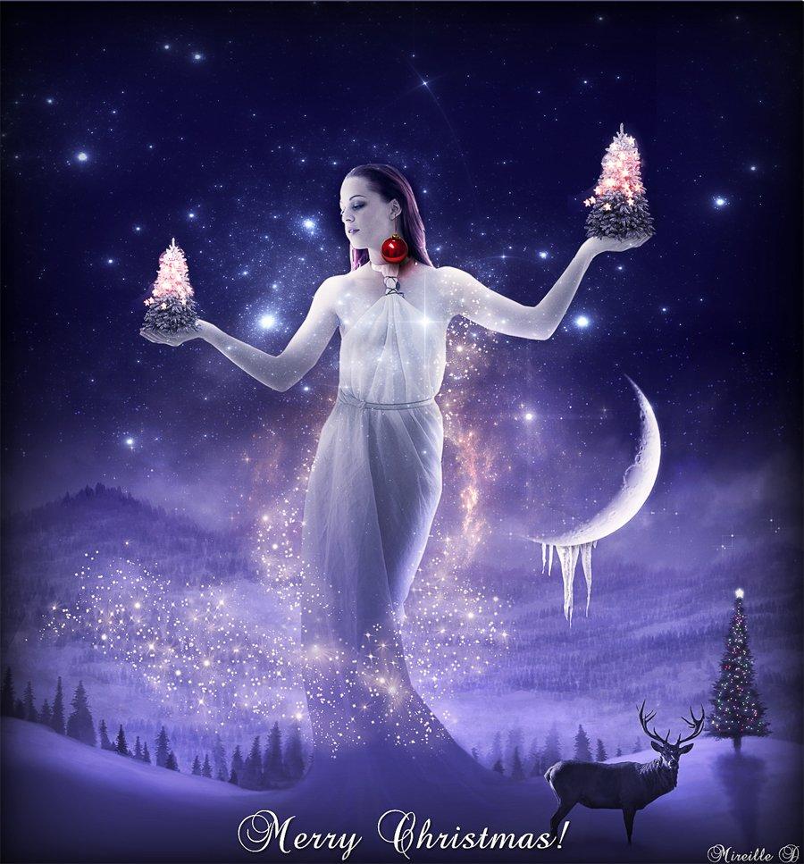 Christmas Fantasy Tale Photoshop Manipulation Tutorial - Photoshop ...
