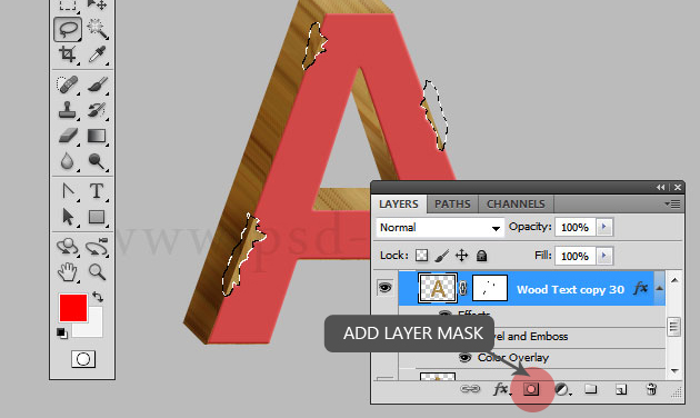 how to add grain to a layer photoshop