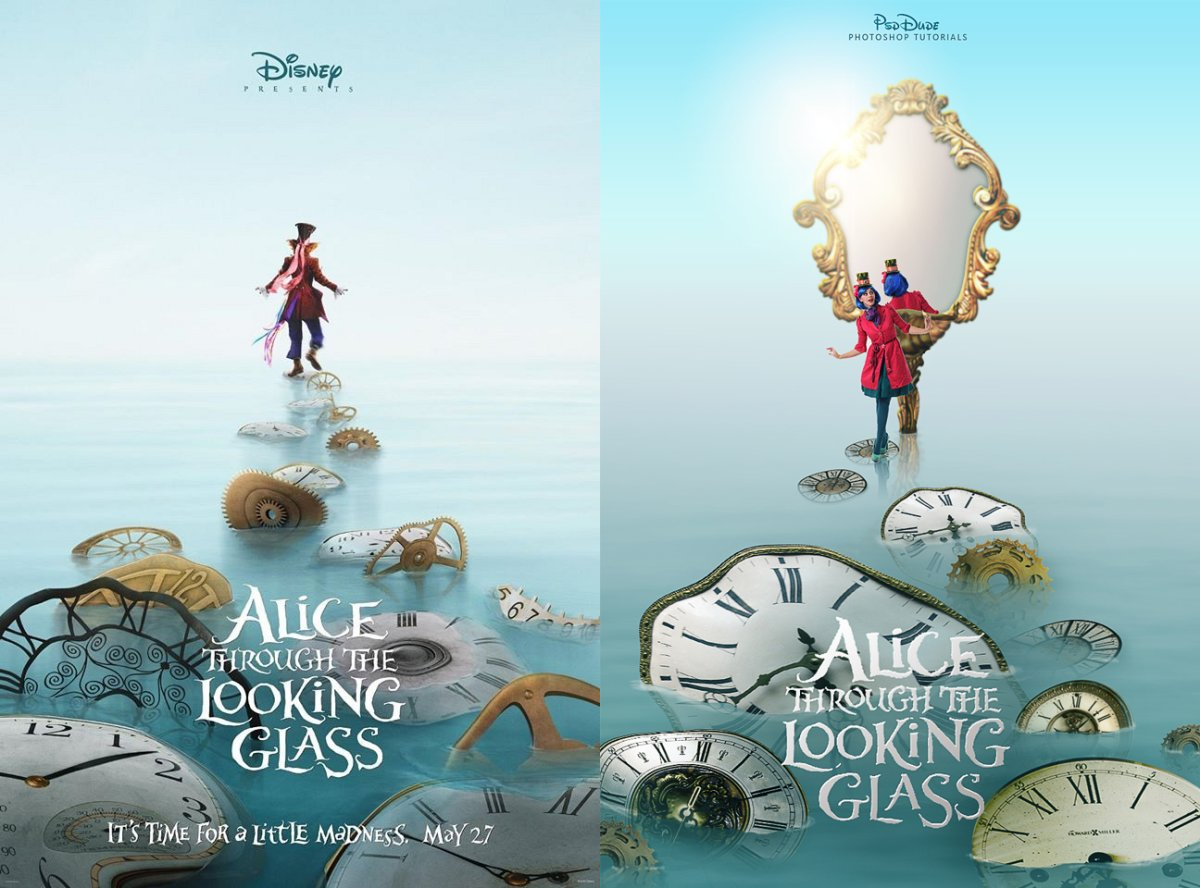 Alice through the looking glass photoshop tutorial photoshop 4 comments for alice through the looking glass photoshop tutorial baditri Images