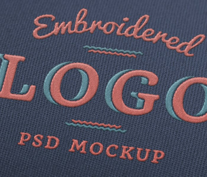 Sewing Embroidery Effect in Photoshop - Photoshop tutorial