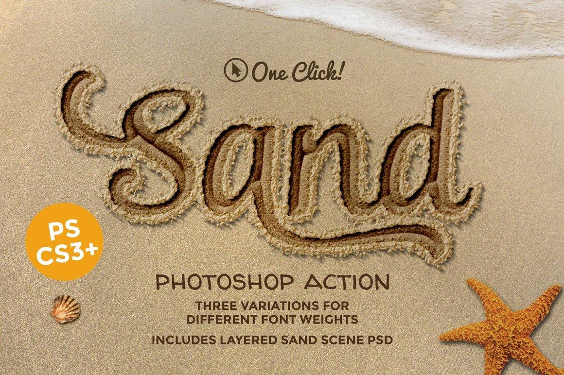 Write in sand summer beach photoshop tutorial photoshop tutorial download link httpscreativemarketkimmo242390953 sand photoshop actionupsddude reply baditri Gallery
