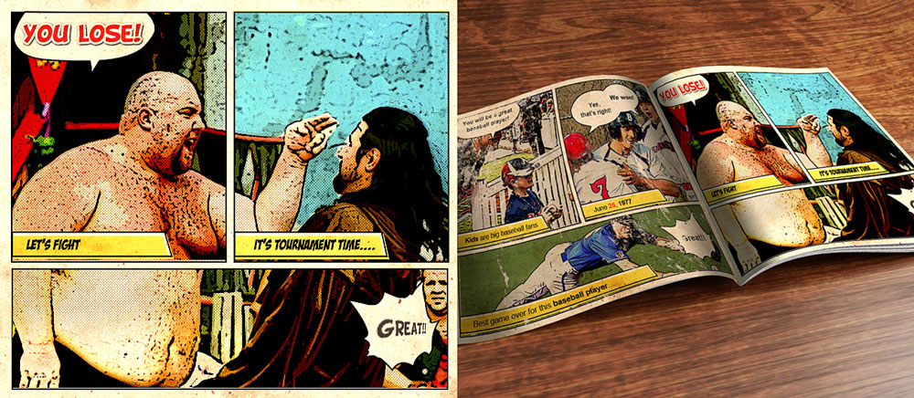 Create A Retro Comic Book Effect In Photoshop
