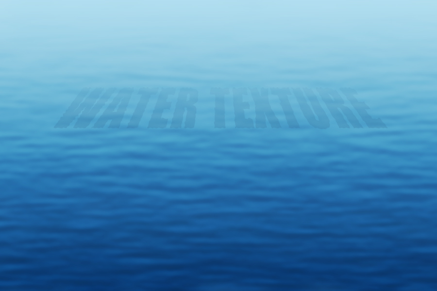 Create Water Texture In Photoshop