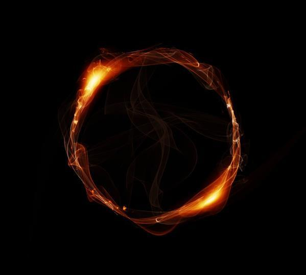 Magic Fire Ring Texture