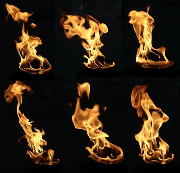 Realistic Flames Free Pack