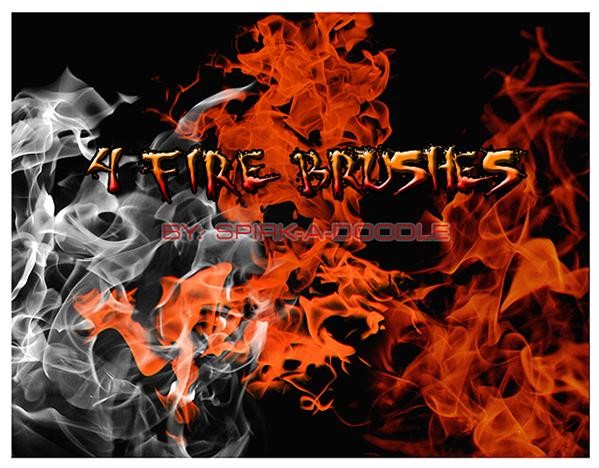 Fire by spirk-a-doodle photoshop resource collected by psd-dude.com from deviantart