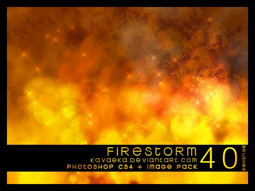 Firestorm by Kavaeka photoshop resource collected by psd-dude.com from deviantart