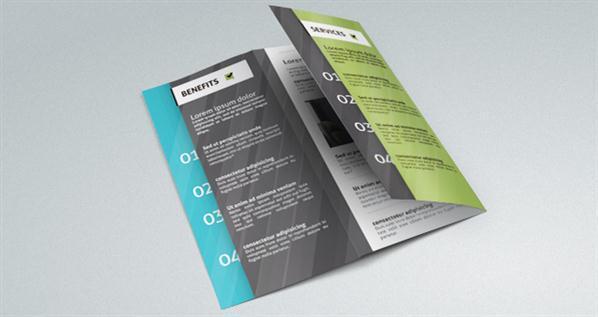 free tri fold brochure template psd - fold brochure psd free template psddude