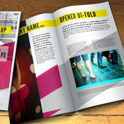 <span class='searchHighlight'>Fold</span> Brochure PSD Free Template psd-dude.com Resources