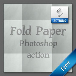 Fold Paper with Photoshop Action psd-dude.com Resources