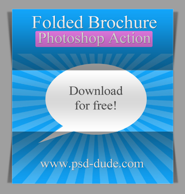 Fold Photoshop Action