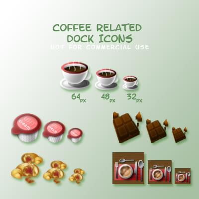 Coffee Break Icons Contest by Hairac photoshop resource collected by psd-dude.com from deviantart