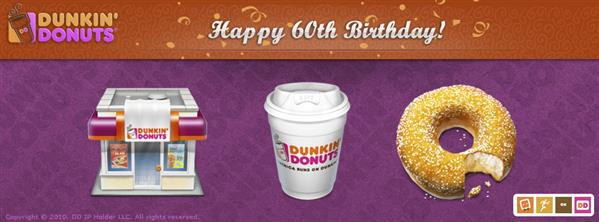 Dunkin Donuts by IconBlock photoshop resource collected by psd-dude.com from deviantart