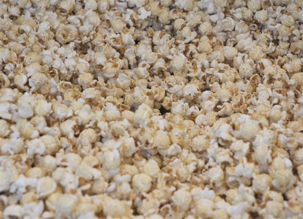Popcorn Background Stock