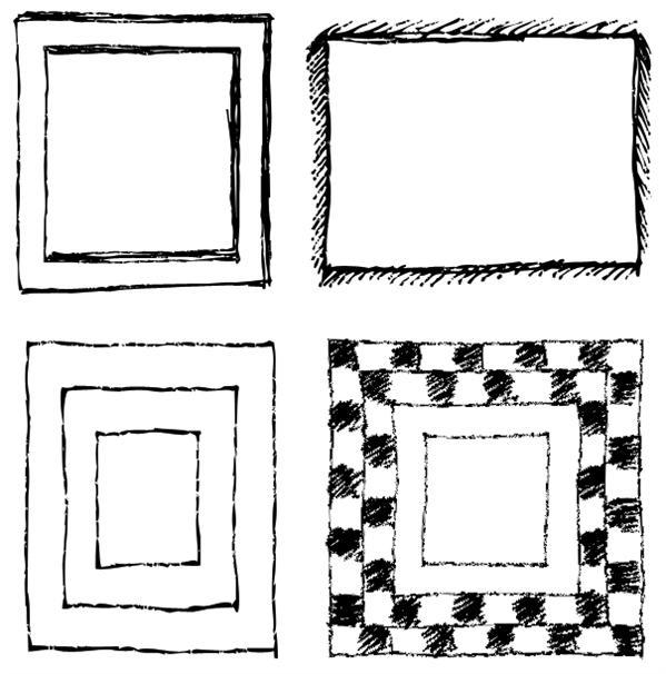 Frame Shapes for Photoshop   PSDDude