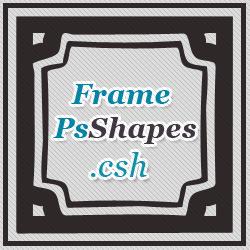 <span class='searchHighlight'>Frame</span> Shapes for Photoshop | PSDDude psd-dude.com Resources