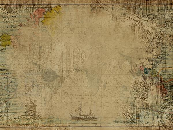 Geography Map Texture background free download