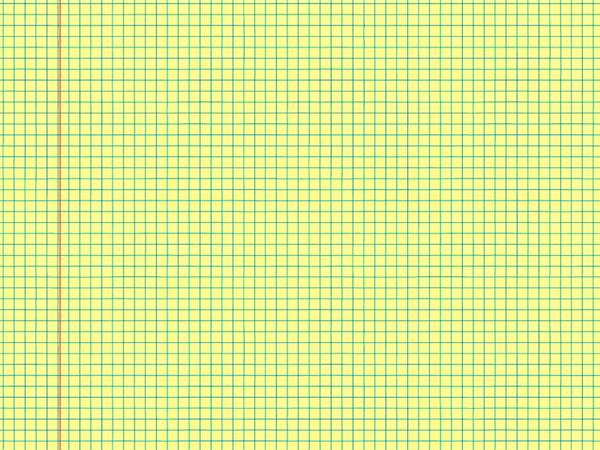Seamless notebook math paper yellow texture