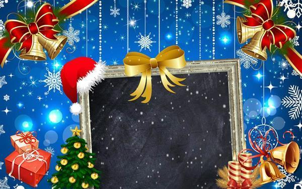 Christmas Charities Greeting Card Background