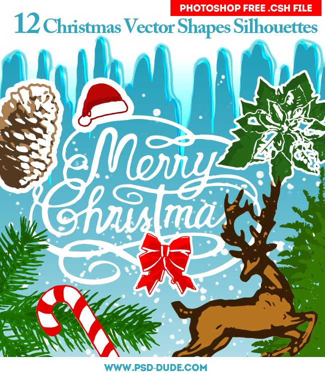 Christmas Vector Shapes