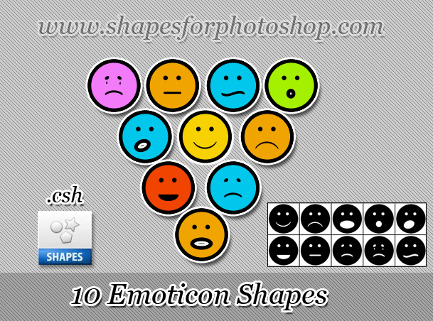 Emoticon Shapes