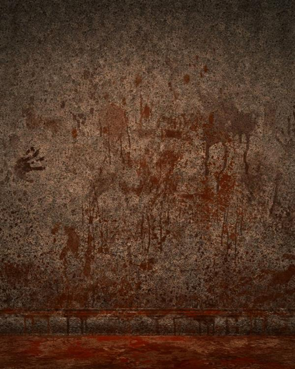 Blood on Wall Horror Background for Photoshop