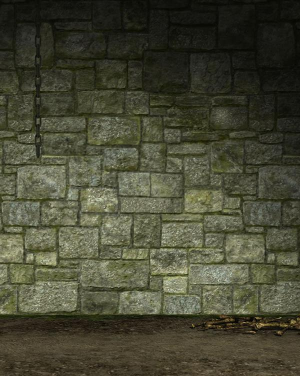 Stone Wall Room Free Background