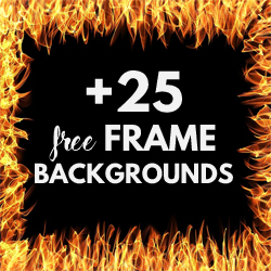 Free Frames and Borders Texture Backgrounds for Designers psd-dude.com Resources