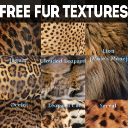 Free Fur Textures for Photoshop psd-dude.com Resources