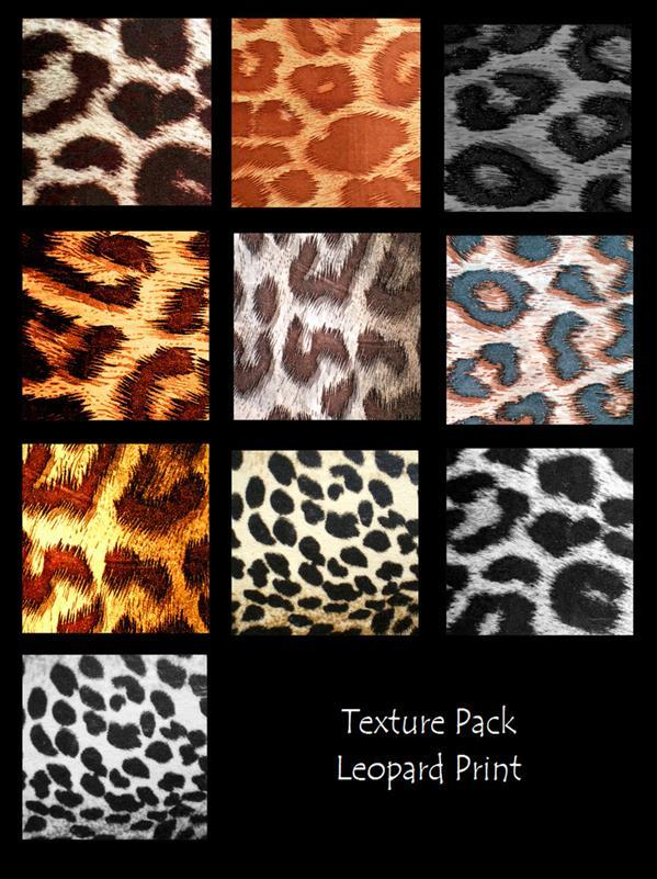 Free Texture Pack Leopard Print Backgrounds