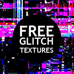 Free VHS Glitch Texture Overlays for Photoshop psd-dude.com Resources
