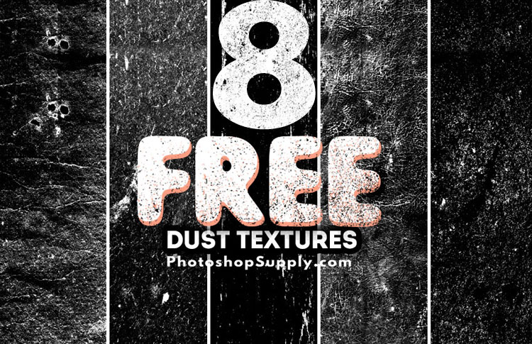 8 Free Dust and Dirt Textures