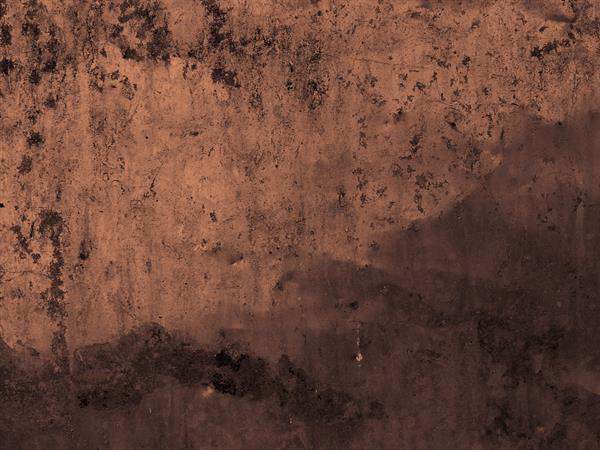 Grunge old copper sheet texture