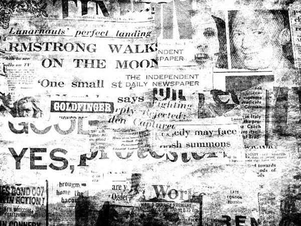 Newspaper background vintage texture