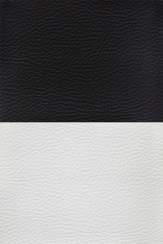 Black and White Leather Textures