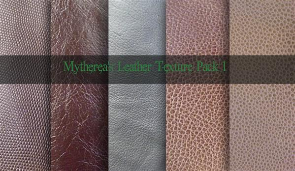 Leather Texture Pack for Photoshop