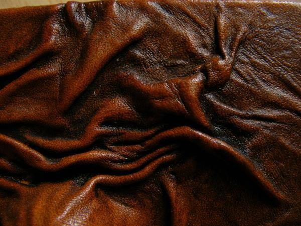 Wrinkled Rough Leather Texture