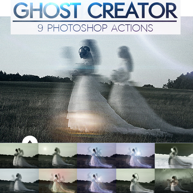 Ghost Photoshop Brushes free download