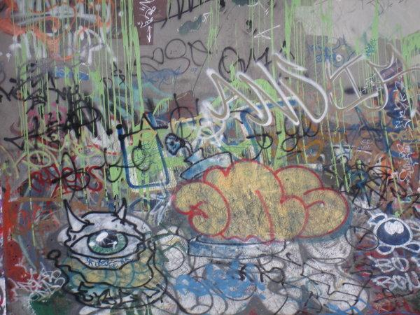 Graffiti art texture free
