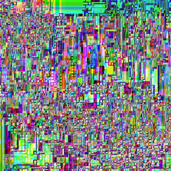 Glitch Computer Screen Data Error Texture