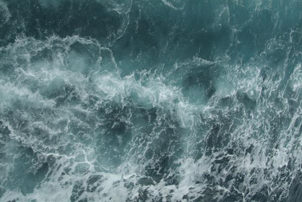 Turbulent water texture