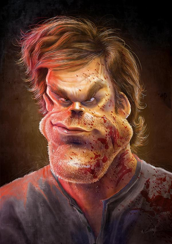DEXTER by AnthonyGeoffroy photoshop resource collected by psd-dude.com from deviantart