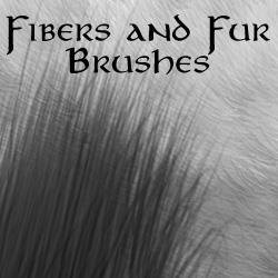 Fiber and Fur brushes by Erulisse2 photoshop resource collected by psd-dude.com from deviantart