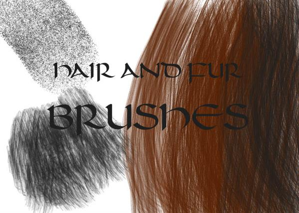 Photoshop cc hair brushes pack free download