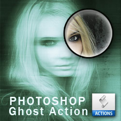 Ghost Effect Photoshop Action psd-dude.com Resources