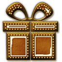 Gingerbread Gift Icon