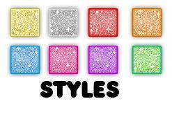 Glitter Styles for Photoshop