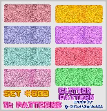 Glitter Pattern ~ Get Free Photo Editing Effects