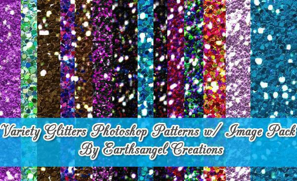 Photoshop Glitter Patterns