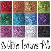 Glitter Textures by mandy71480 photoshop resource collected by psd-dude.com from deviantart
